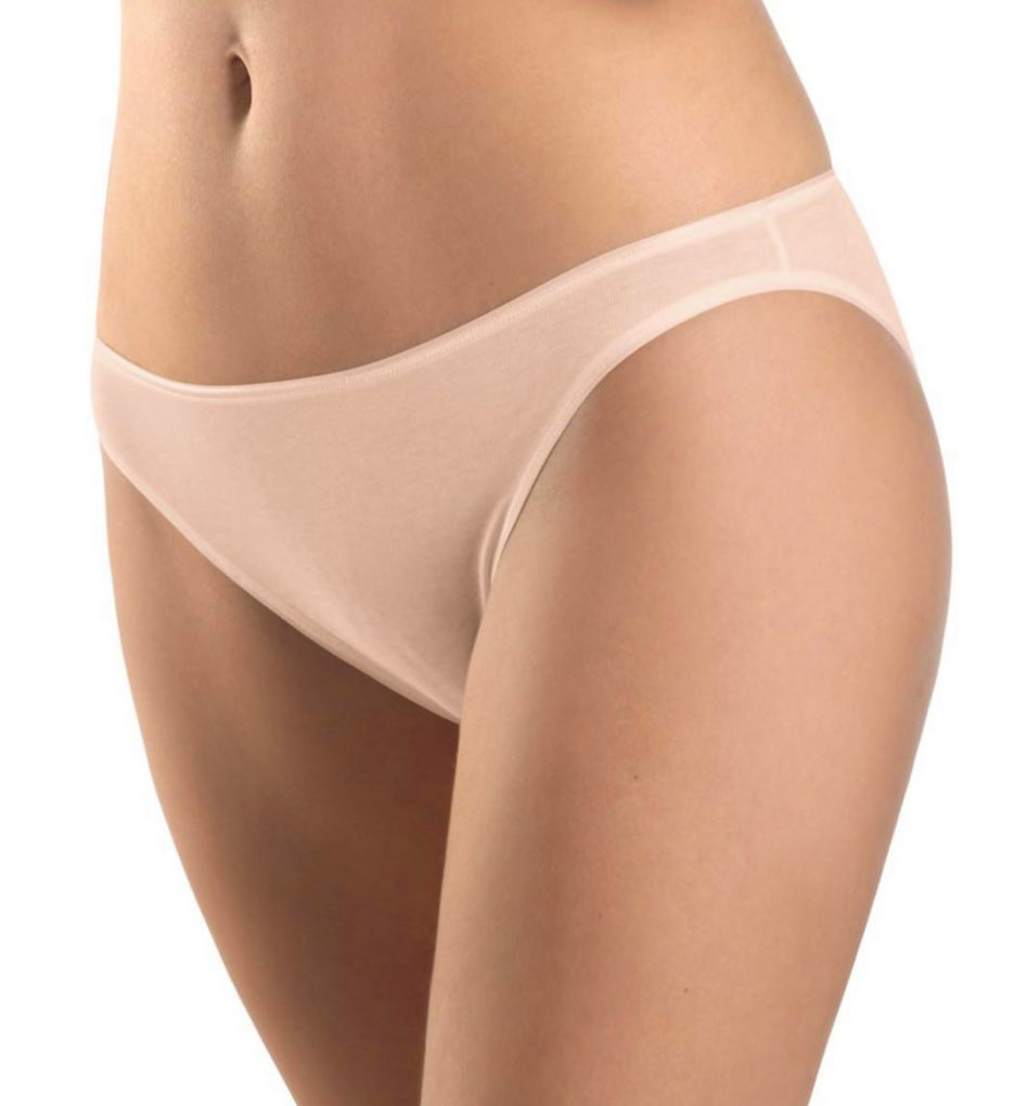 Hanro Cotton Seamless Hi Cut Brief Panty