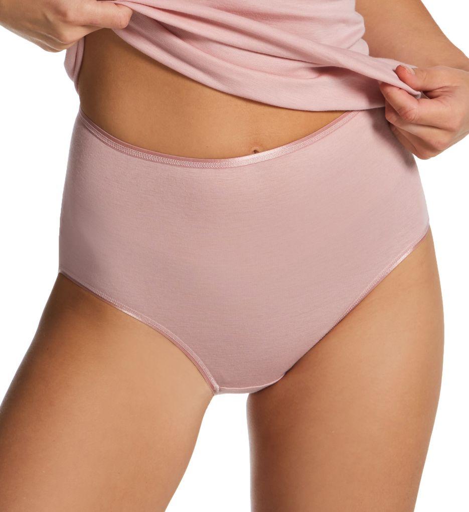 Hanro Cotton Seamless Full Brief Panty