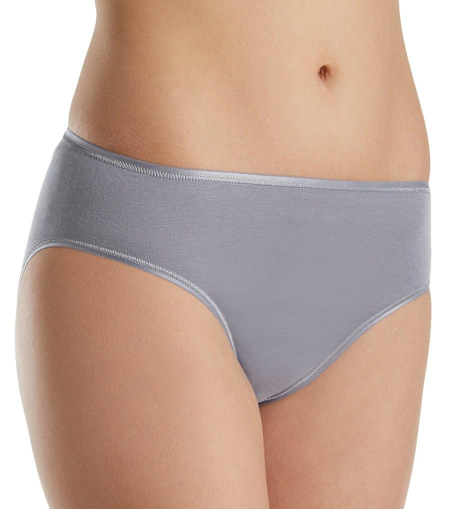 Hanro 1626 Cotton Seamless Hi-Cut Full Brief Panty