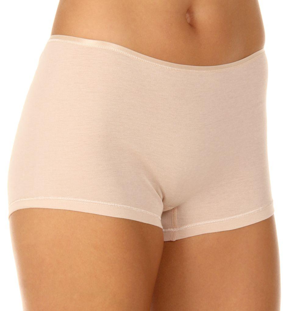 Hanro Cotton Seamless Boyleg Panty
