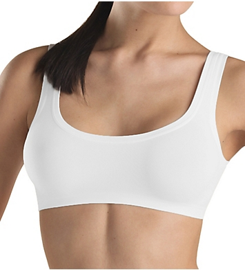 Hanro Touch Feeling Crop Cami Top Bra