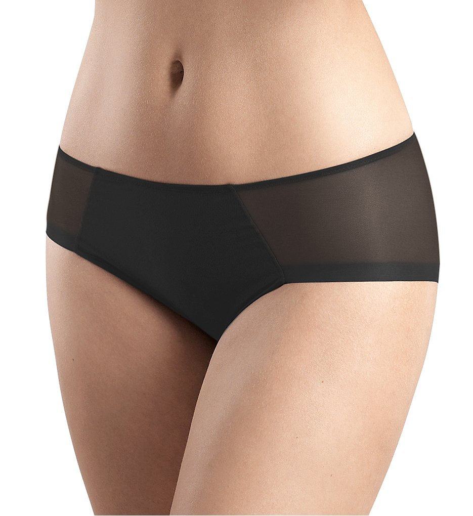 Hanro : Hanro 71030 Temptation Full Brief Panty (Black XS)