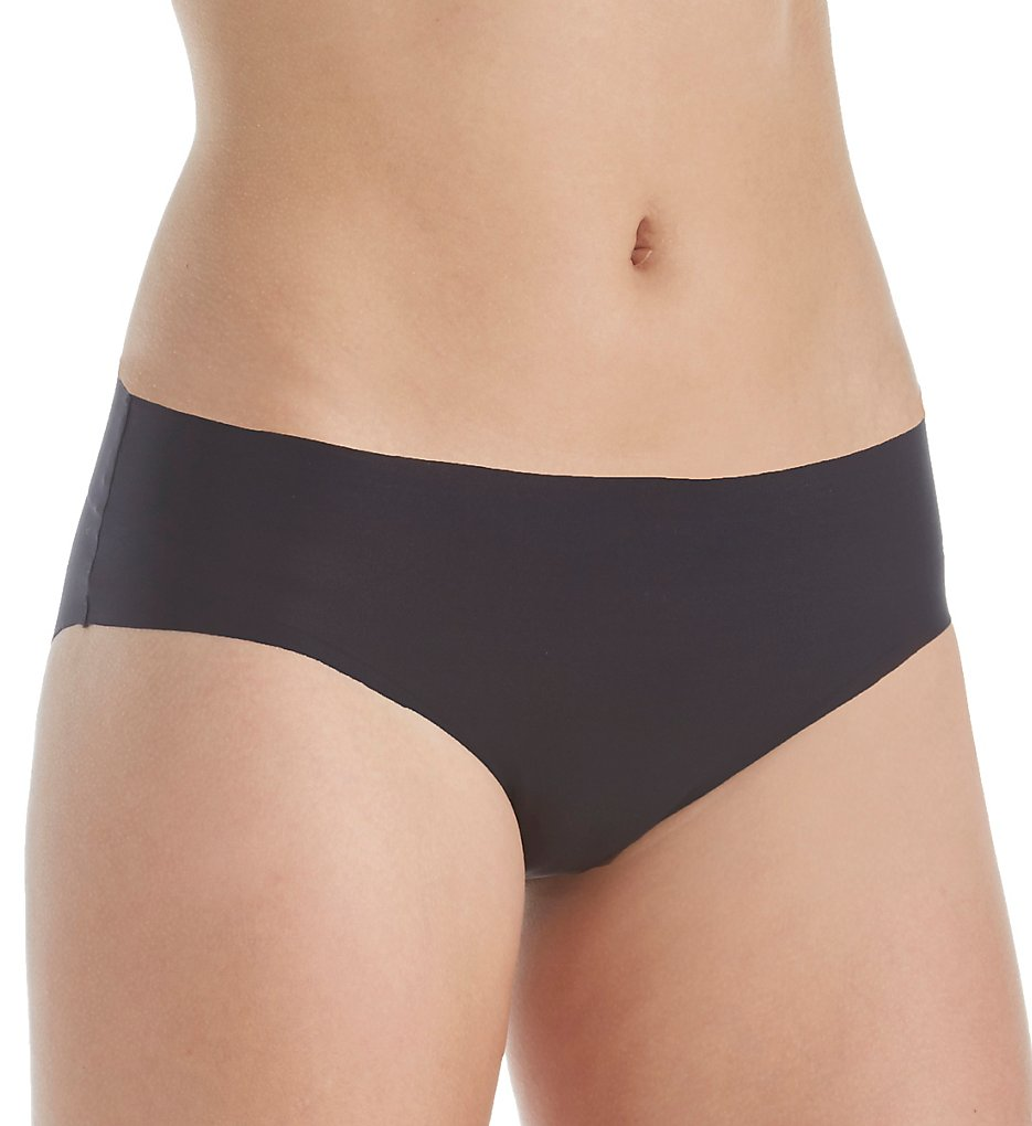 Hanro - Hanro 71296 Smooth Illusion Hi-Cut Brief Panty (Black XS)
