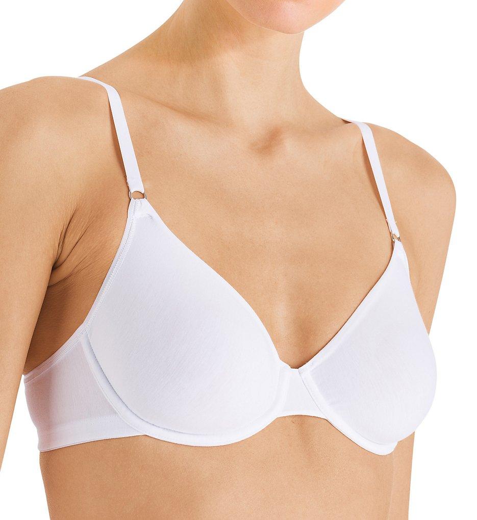 Hanro 71363 Cotton Sensation Underwire Bra (White)