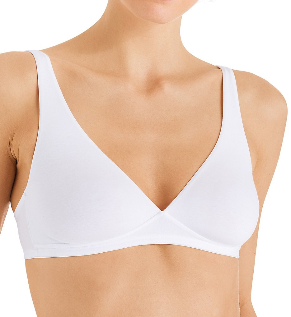 Hanro 71387 Cotton Sensation Full Busted Soft Cup Bra (White)