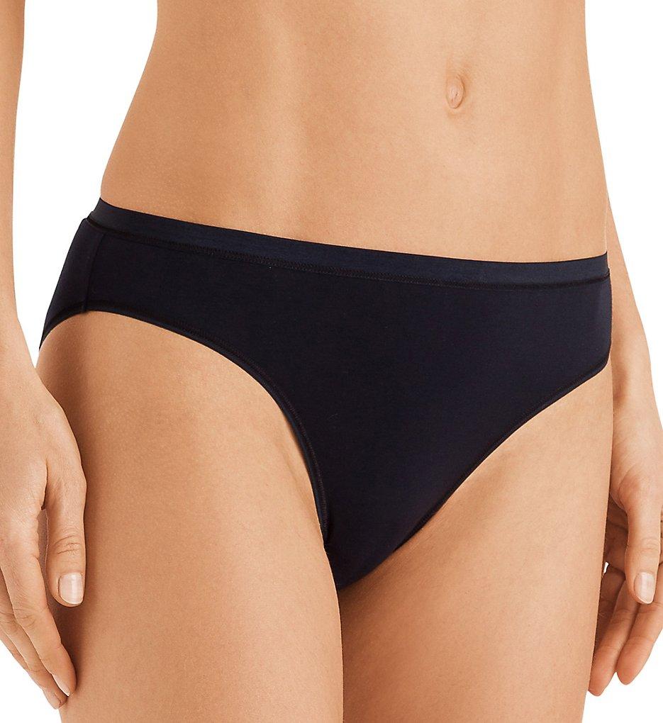 Hanro : Hanro 71403 Cotton Sensation Bikini Panty (Black XS)