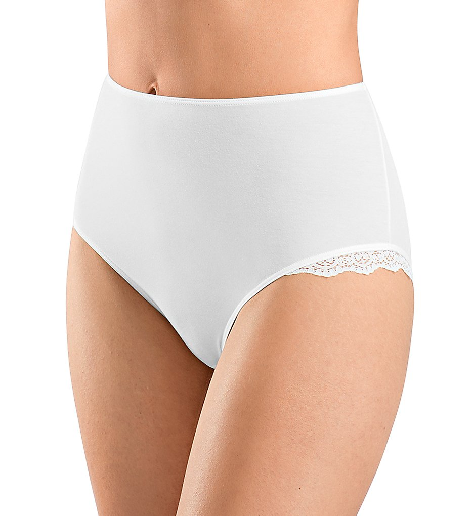Hanro - Hanro 72344 Maja Full Brief Panty (White XS)