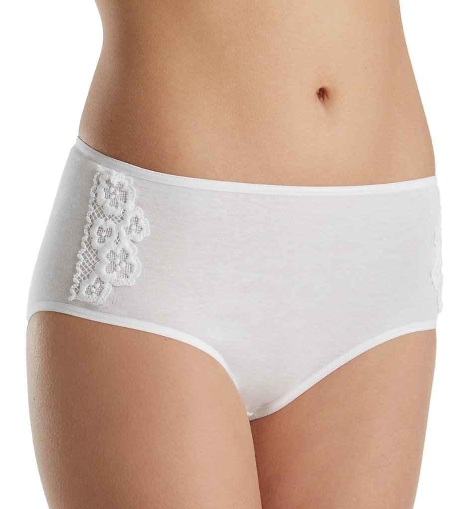 Hanro : Hanro 72427 Summer Brief Panty (White XS)