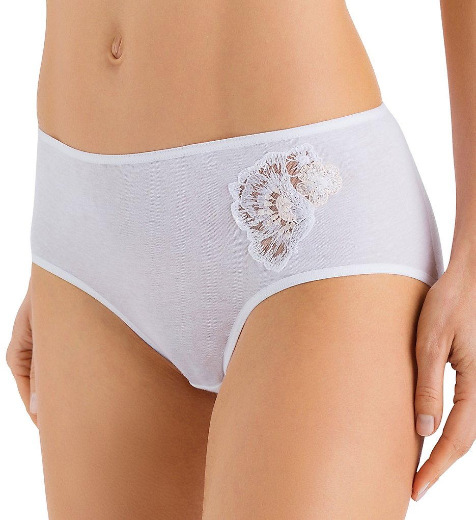 Hanro - Hanro 72544 Jana Full Brief Panty (White S)