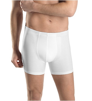 Hanro Cotton Superior Long Leg Boxer Brief