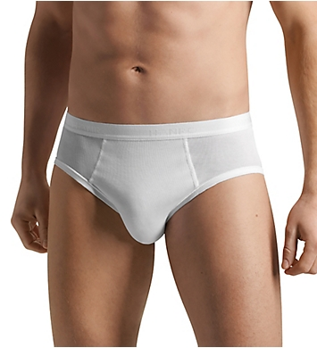 Hanro Cotton Pure Hi Leg Brief