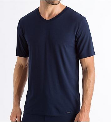 Hanro Casuals Short Sleeve V-Neck Lounge T-Shirt