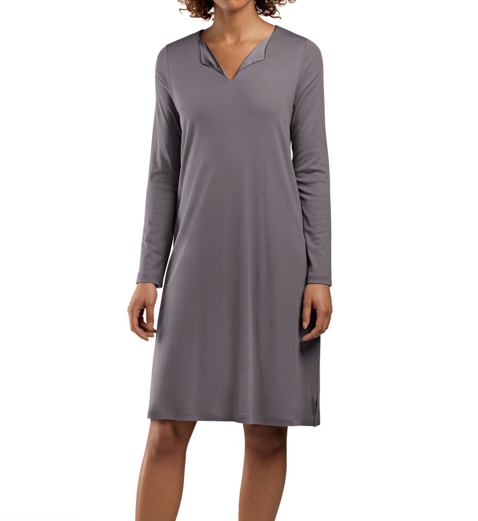 Hanro Adriana Long Sleeve Sleep Gown