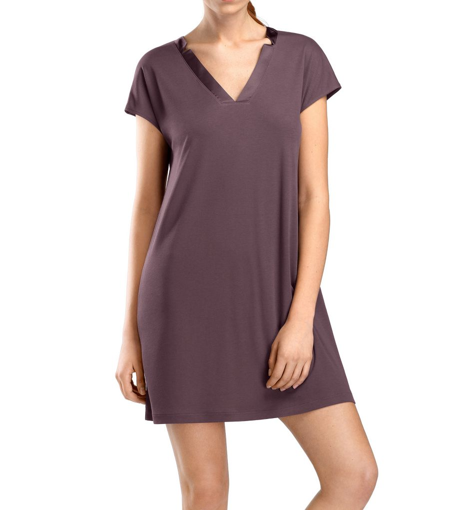 Hanro Ivy Cap Sleeve Gown
