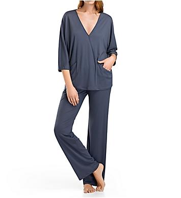 Hanro Mona 3/4 Sleeve Pajama Set