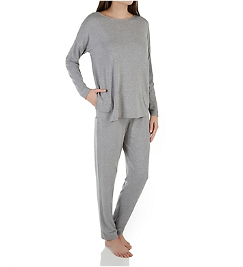 be29f6f9bb Hanro Natural Elegance Long Sleeve Pajamas 76390 - Hanro Sleepwear