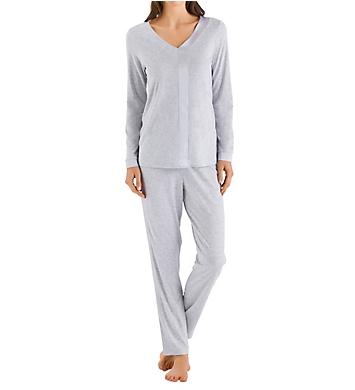 Hanro Elara Long Sleeve Pajama