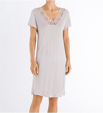 Hanro Jolina Short Sleeve Gown