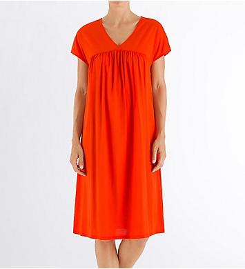 Hanro Lotta Short Sleeve Gown