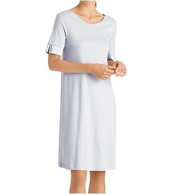 Hanro Lamia Short Sleeve Gown