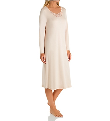 Hanro Madlen Long Sleeve Gown