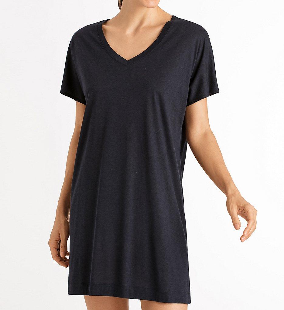 e77b869a46 Hanro Laura Short Sleeve Big Shirt 77111 - Hanro Sleepwear