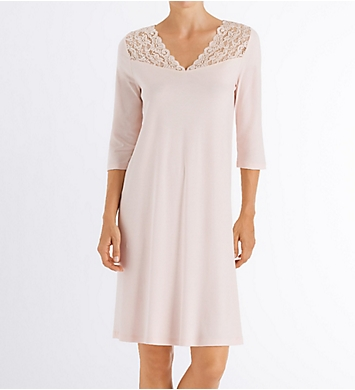 Hanro Moments 3/4 Sleeve Gown