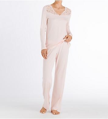 Hanro Moments Long Sleeve Pajama Set