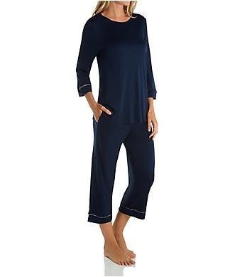 Hanro Natural Comfort Crop Pajama Set