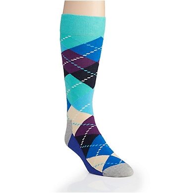 Happy Socks Argyle Cotton Crew Sock