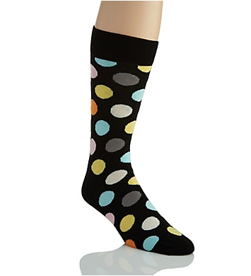 Happy Socks Big Dot Combed Cotton Crew Sock
