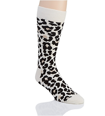 Happy Socks Leopard Print Crew Sock