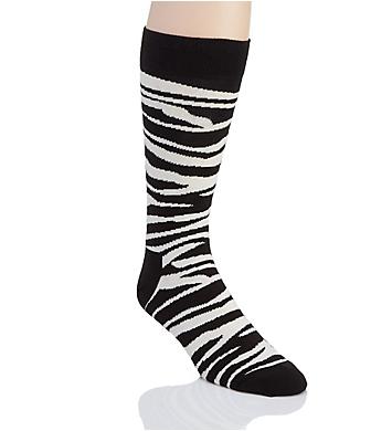Happy Socks Zebra Print Crew Sock