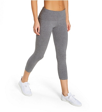 Hard Tail Roll Down Layering Capri Legging