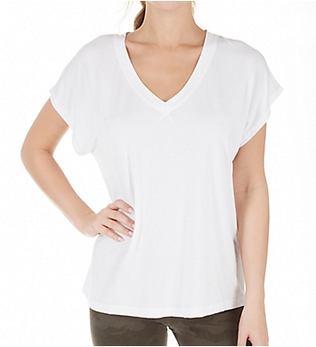 Hard Tail Slouchy V-Neck T-Shirt