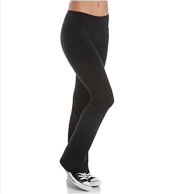 Hard Tail Flat Waist Wide Flare Pant