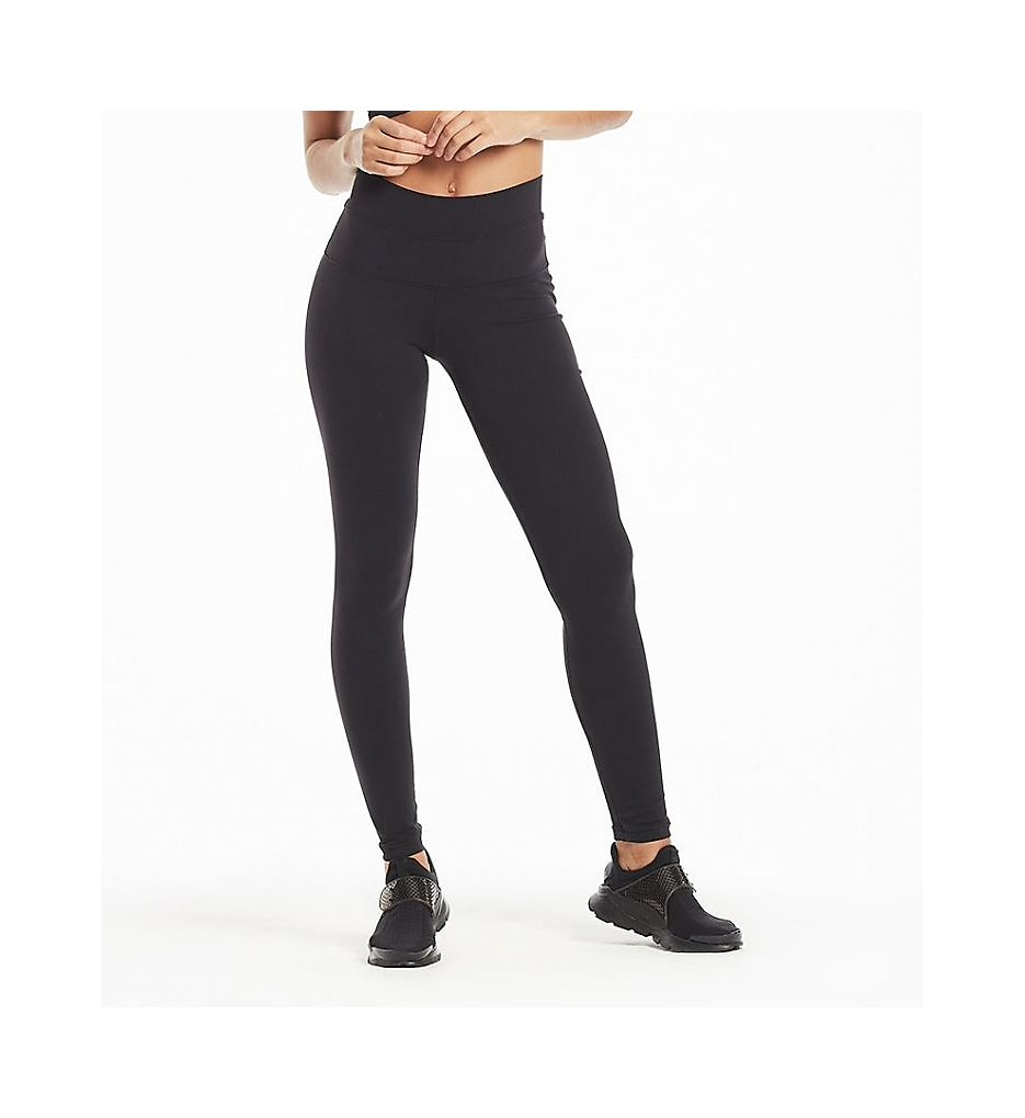 Hard Tail W-566 High Rise Ankle Legging (Black)