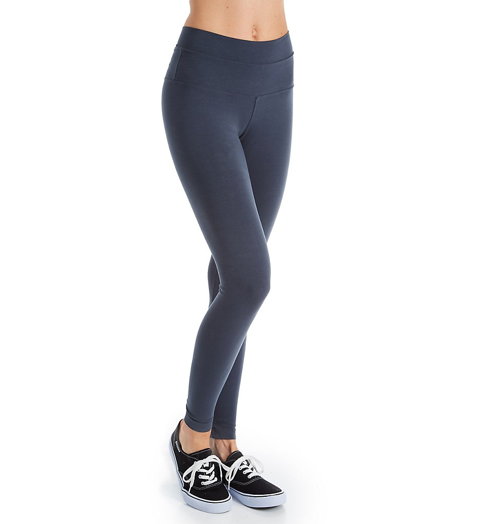 Hard Tail W-566 High Rise Ankle Legging (Onyx)