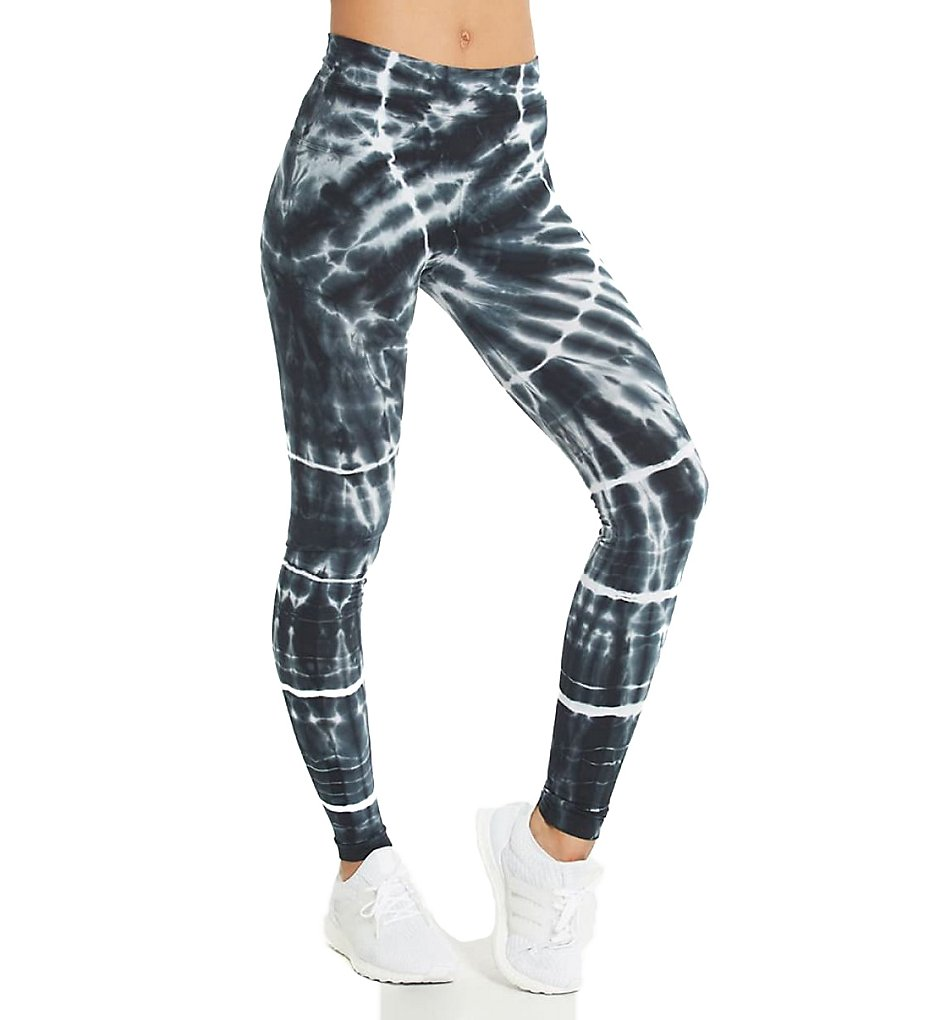 Hard Tail W-566SU High Rise Printed Ankle Legging (Sun Ray)
