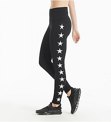 Hard Tail High Rise All Star Printed Ankle Legging