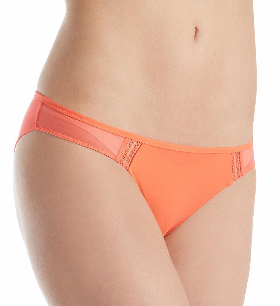 Heidi Klum Intimates : Heidi Klum Intimates H30-1382 An Angel Kiss Bikini Panty (Hot Coral S)