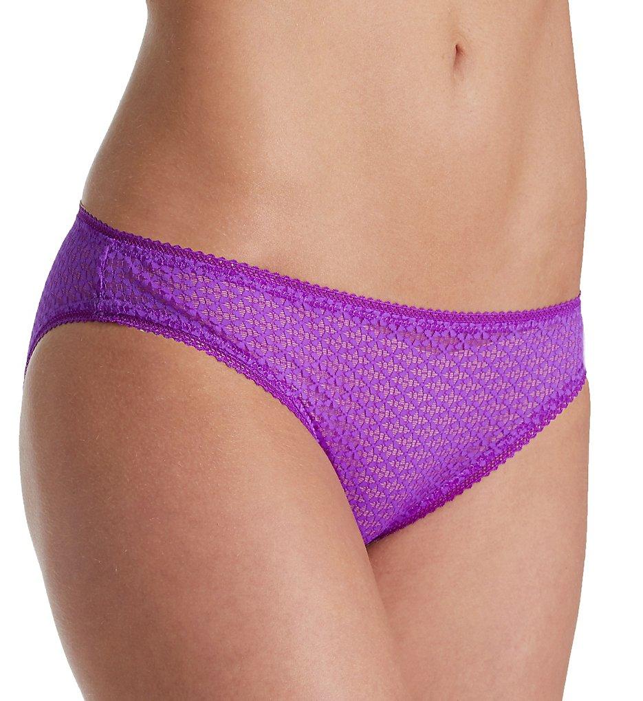 Heidi Klum Intimates : Heidi Klum Intimates H30-1391 A Roman Crush Bikini Panty (African Purple S)