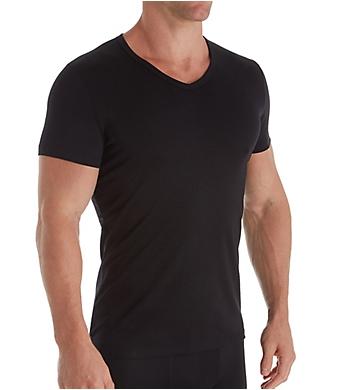 HOM Classic Cotton Blend V-Neck T-Shirt