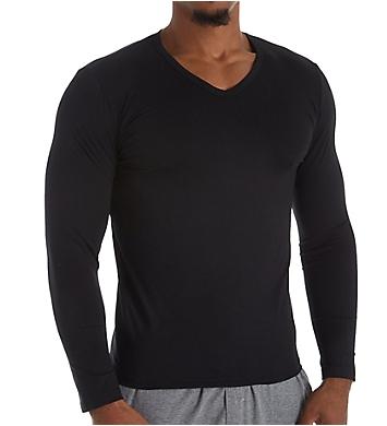 HOM Classic Long Sleeve V-Neck T-Shirt
