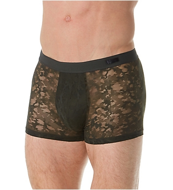 HOM Canopee Sheer Camo Boxer Brief