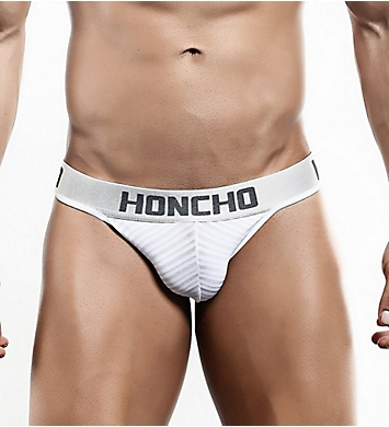 Honcho Striped Slip Thong