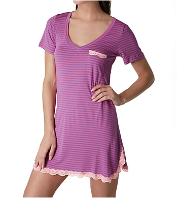 honeydew All American Stripe Sleepshirt