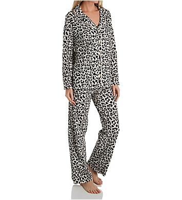 honeydew Notch Collar Pajama Set
