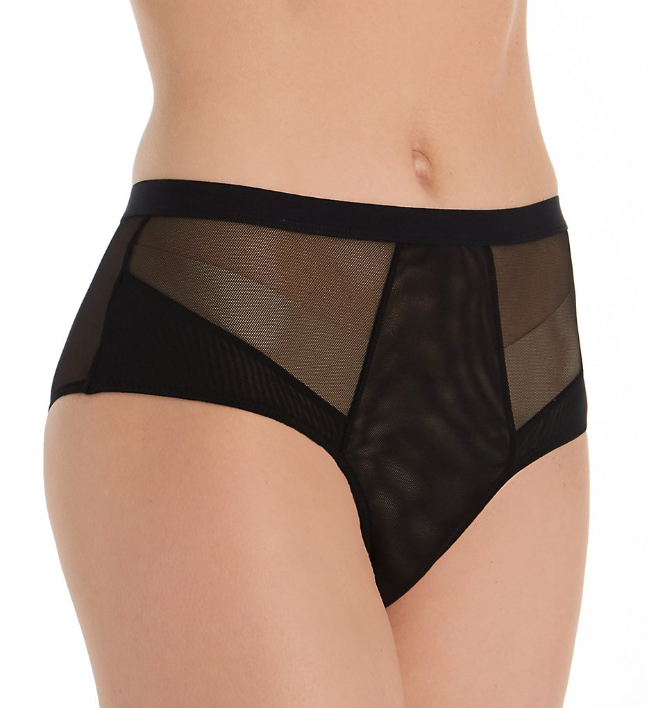 honeydew - honeydew 70484 Everly Mesh Hipster Panty (Black S)