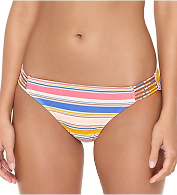 Hot Water Island In The Sun Multi Strap Hipster Swim Bottom